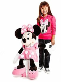 Disney Giant Pink Minnie Mouse Plush Large 30