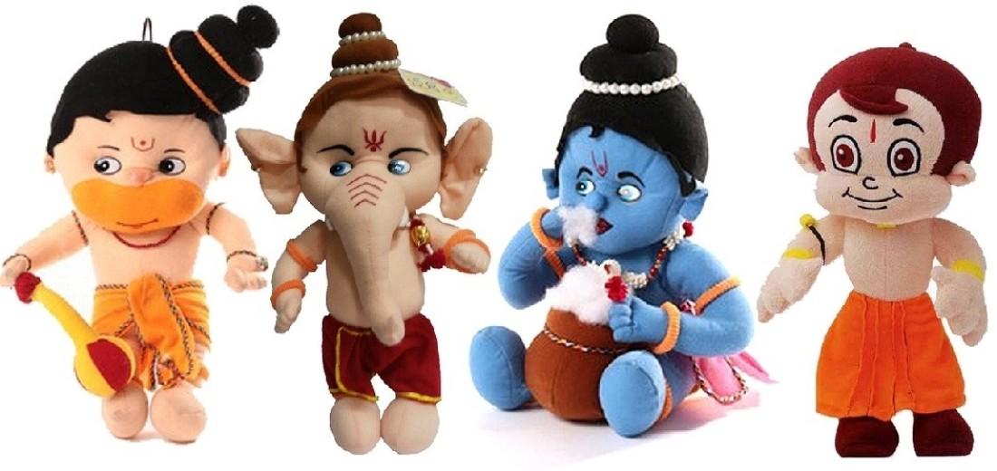 Chota bheem and krishna and hanuman games