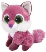 Wild Republic Soft Toys Wild Republic L'Il Sweet & Sassy Fox Raspberry Plush