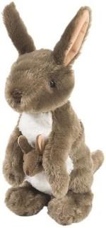 "Wild Republic Soft Toys Wild Republic Cuddlekins 12"" Kangaroo"