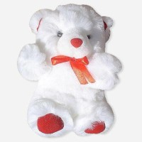 Tokenz Hearty Surprise : Teddy Bears  - 10 Inch (White)