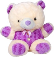 Joy Purple Soft Teddy  - 21 Inch (Purple)