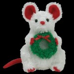 TY Beanie Babies Soft Toys TY Beanie Babies Jingle Beanies Garlands Mouse