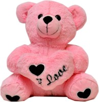 Prachi Sweet Teddy With HeartCm 28  - 28 Cm (Pink)