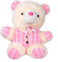 Joy Playable Teddy Bear  - 17 Inch (Pink)