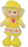 Mera Toy Shop Candy Doll  - 16 Inch (Yellow)
