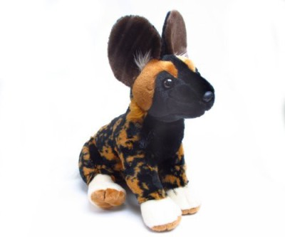 "Wild Republic Soft Toys Wild Republic Cuddlekins 12"" African Wild Dog"