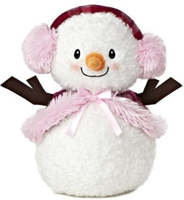 "Aurora World Soft Toys Aurora World Bundled Up Snowlady Plush10"""
