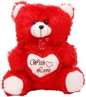 Arihant Online Red Elephantine Teddy Bear  - 9 Inch (Red)