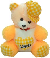 Cuteexpresso CAP TEDDY  - 16 Inch (YELLOW, WHITE)