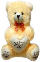Ktkashish Toys Lovly Teddy Bear  - 15 Inch (Beige)