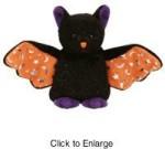 Ty Soft Toys Ty Beanie Babies Scarem Bat