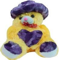 Jai Textiles U-Turn Teddy Bear 18 Inch  - 18 Inch (Yellow)
