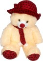Ellisha's World Cap Teddy Small  - 18 Inch - Multicolor