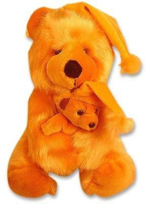 Tokenz Cuddled Two : Teddy Bears  - 15 Inch (Brown)