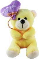 Tickles Sweet I Love You Balloon Heart Teddy - 18 Cm (Yellow)