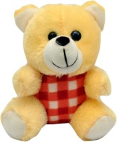 Joey Toys Love Teddy  - 6 Inch (Yellow)