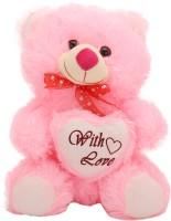 Arihant Online Pink Sung Teddy Bear  - 7 Inch (Pink)