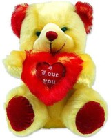 Tokenz Soft & Cuddly Teddy Bears  - 13 Inch (Red, White)