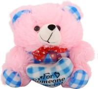 Arihant Online Pink Squashy Teddy Bear  - 10 Inch (Pink)
