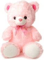 Tabby Toys Cute & Huggable Teddy Bear Soft Toy  - 45 Cm (Pink)