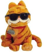 Ty Soft Toys Ty Cool Cat Garfield With Sunglasses