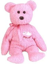 Ty Soft Toys Ty Beanie Ba Ba Girl The Bear