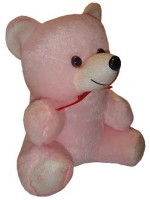 Shree Krishna Teddy Bear  - 9 Inch (Pink, White)
