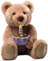 GUND Birthday Teddy Bear Animated Musical Animal (Brown)