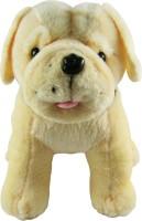 Tabby Very Cute Pug Dog  - 16 Inch (Brown)