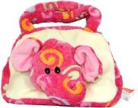Play N Pets Elephant Hand Bag  - 23 Cm (Pink)
