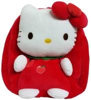 Hello Kitty Plush Apple Bag  - 12 Inch (Red)