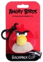 Angry Birds Back Pack Clip  - 3 Inch - Red