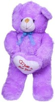 Ktkashish Toys Kashish Sweet Purple Teddy Bear  - 25 Inch (Purple)