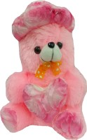Jai Textiles U-Turn Teddy Bear  - 16 Inch (Pink)