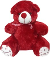 Lotus Teddy Bear(Red)  - 18.5 Inch (Red)