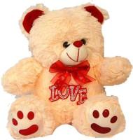 Tokenz Love Footprints Teddy Bears  - 11 Inch (Beige)