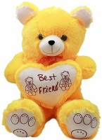 Ktkashish Toys Kashish Cute Yellow Teddy Bear 35 Inch  - 25 Inch (Yellow)