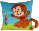 Soft Buddies Loop Playtoy - Monkey  - 11 Inch - Multicolor