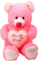 Arihant Online Pink Lively Teddy Bear  - 10 Inch (Pink)