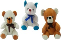 Play Toons Chubby Bear  - 6 Inch (Multicolor)