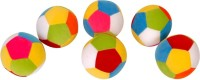 Dream Deals Dream Deals Colourful Ball 4 Inch(Pack Of 6)  - 4 Inch (Multicolour)