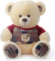 Dimpy Stuff Bear W/Premium T-Shirt Sitting 55Cm - 55 cm: Stuffed Toy