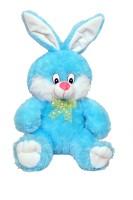 Tabby Toys Cute & Happy Bunny Teddy  - 55 Cm (Blue)