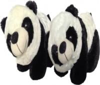 SCG Cute Kung Fu Panda Combo  - 20 Cm (White, Black)