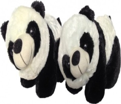 SCG Cute Big Kung Fu Panda Combo  - 30 Cm (White, Black)