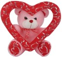 E Soft Mable Ring Bear - 35cm - 4 Inch: Stuffed Toy