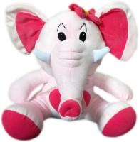 Omkar Toys My Lovable Elephant  - 17 Inch (Pink)