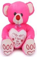 Kt Kashish Toys I Love You Teddy Bear 45cm  - 22 Inch (Pink)