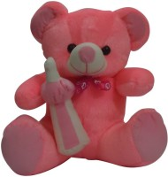 Taringo24h Milk Bottle Dark Pink Teddy Bear  - 15 Inch (Pink)